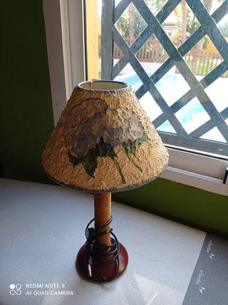 Juego de lámparas artesanales