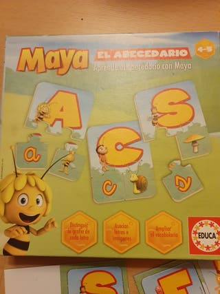 Lote de juguetes puzzles y dominó