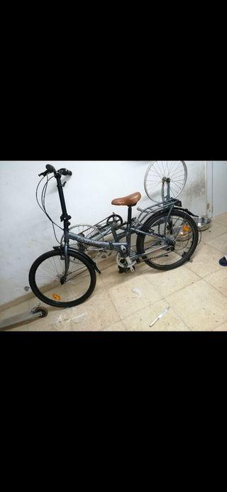 "Bicicleta plegable zambra megamo 20"""