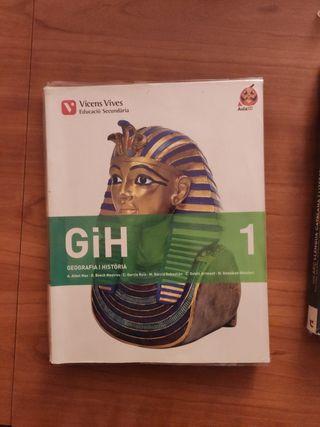 Libro GiH, geografia i história