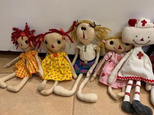 Muñecas hechas a mano