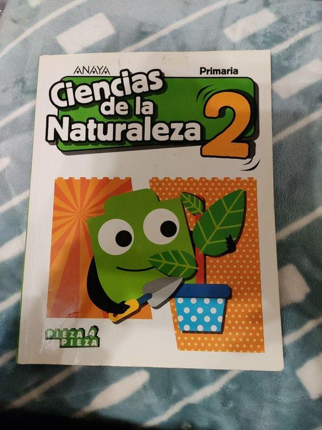 libro de ciencias de la naturaleza, 2º de primaria