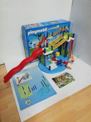 Playmobil 6670 parque acuáticos, playas, piscina
