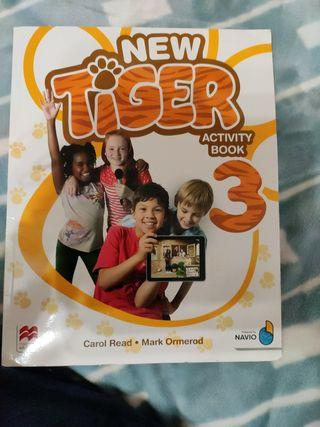 New tiger activity book para tercero de primaria
