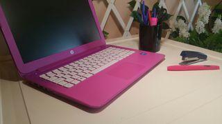 "Portátil HP 13"" pulgadas + mouse inalambrico rosa"