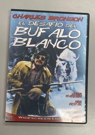 DVD. El desafío del búfalo blanco.
