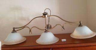 Lámpara salón comedor estilo colonial