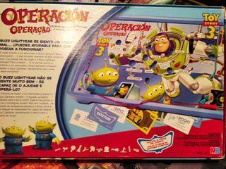 Juego Operación de Toy Story