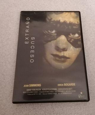 """Dvd película: """" Extraño suceso"""""""