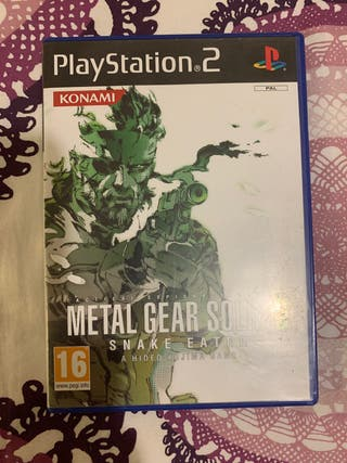 Metal Gear Solid 3 PS2 Completo