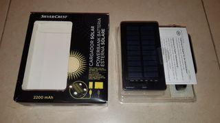 Cargador solar LIDL