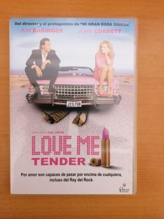 """Dvd película: """"Love me tender"""""""