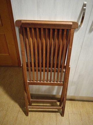 sillas de madera para jardín,