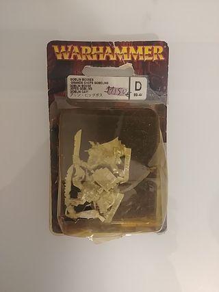 2 jefes goblins Warhammer