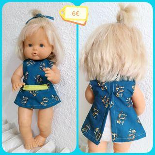 Muñeca de Famosa Mide 40 cm.