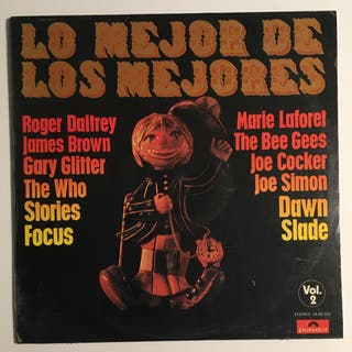 LO MEJOR DE LOS MEJORES Disco Vinilo LP