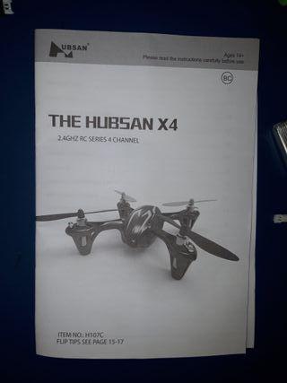 QUADCOPTER DRON CON CÁMARA HUBSAN X4