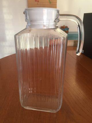 Jarra de agua cristal quadro 1,7l