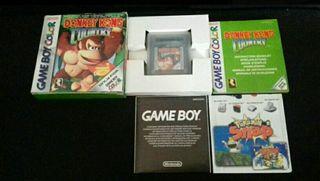 Donkey Kong Country como Nuevo Nintendo Game Boy