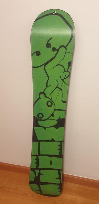 Tabla snowboard + fijaciones