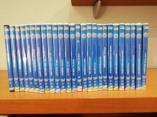 Colección completa de dvd's Magic English Disney