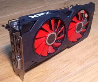 XFX RX 570 4GB Tarjeta Gráfica GPU GDDR5