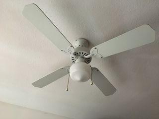 Lámpara de techo con ventilador