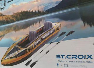Magnifico kayak hinchable!!!!