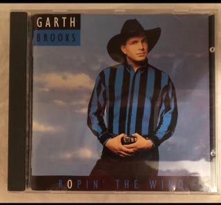 Cd música Garth Brooks Ropin the wind.Nuevo