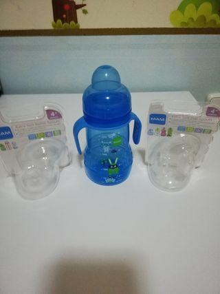 Biberón de agua MAM
