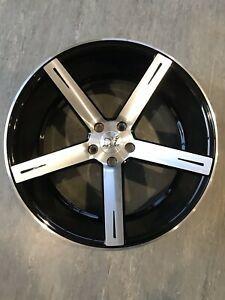 Llantas concavas y neumáticos 20 pulgadas 5x112