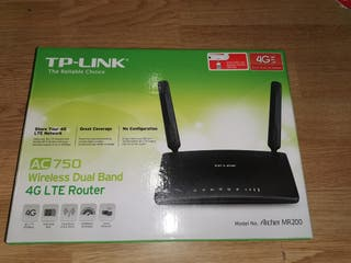 Router 4G TP-Link Archer MR200 libre