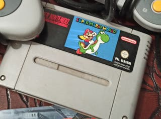 Súper Mario World. super Nintendo