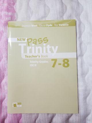 Teacher's book New Pass Trinity 7-8