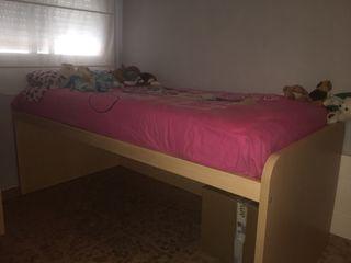 Estructura cama niñ@