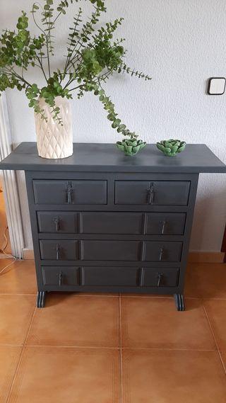 Mueble aparador restaurado