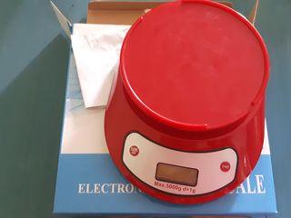 balanza de cocina electronica