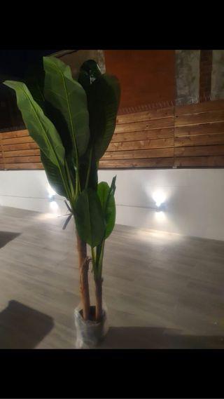 Bananero, planta artificial 190cm