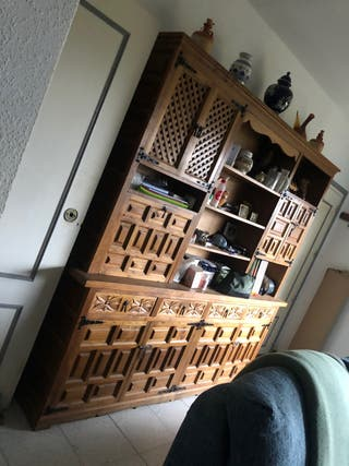 Muebles castellanos madera maciza vintage antiguos