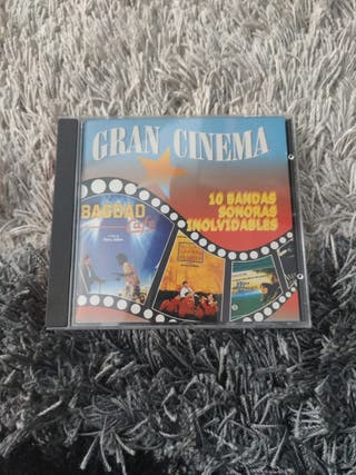 CD GRAN CINEMA - 10 BANDAS SONORAS INOLVIDABLES