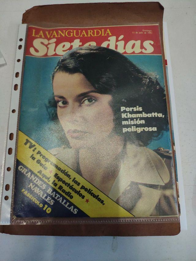 la vanguardia siete dias 1982
