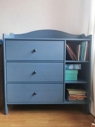 Cómoda azul Trogen Ikea niños
