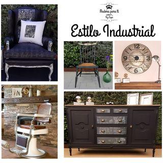 Muebles personalizados estilo Industrial.