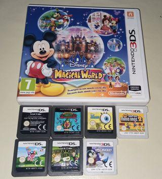 pack juegos Nintendo 3ds o compatible
