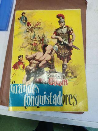 álbum grandes conquistadores 1960