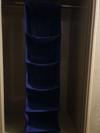 Armario colgante Organizador de almacenamiento
