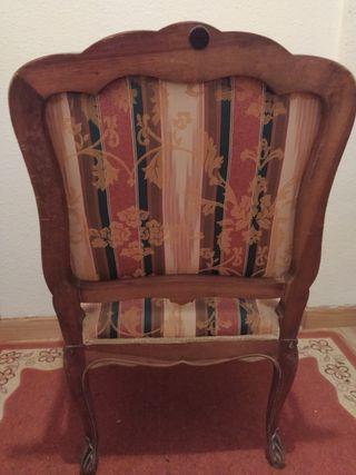 Sillas estilo Luis XV