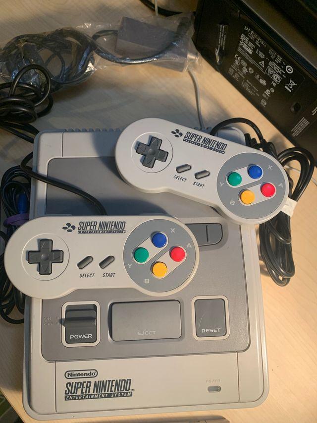 Consola Super Nintendo