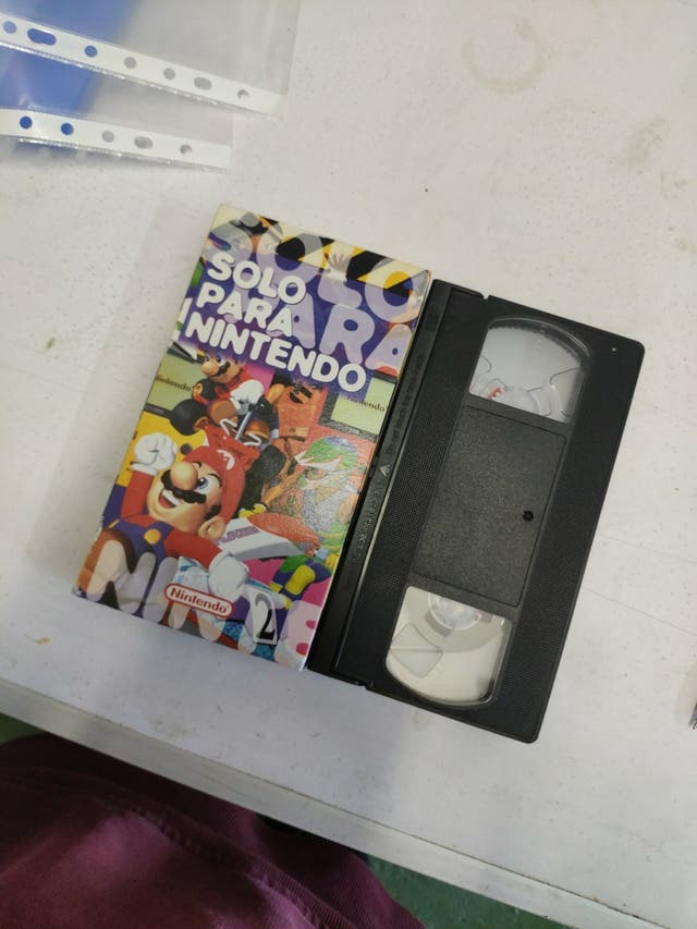 VHS Solo para Nintendo 1997