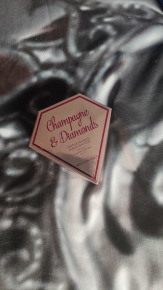 iluminador champagne y diamonds